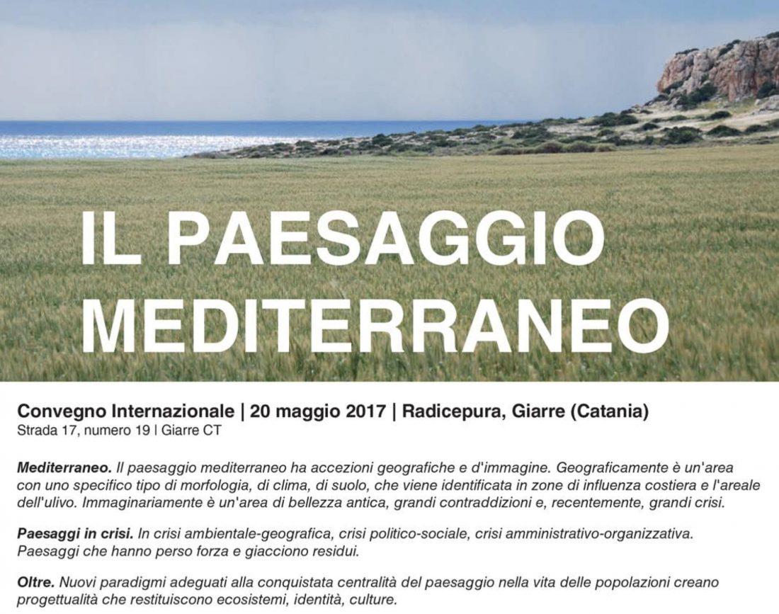 il paesaggio mediterraneo